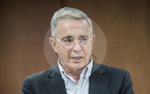 El expresidente Álvaro Uribe confirmó que el precandidato Alejandro Ordóñez aún está en la coalición. FOTO Manuel Saldarriaga