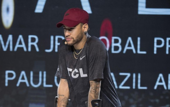 Neymar quiere llegar a al Mundial de Rusia 2018 'mejor que antes'