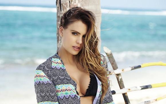 La presentadora Vaneza Peláez también es empresaria. Foto Cortesía Esteban Escobar.