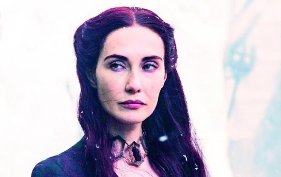 Melisandre tuvo una actuación muy corta, pero definitiva, esta temporada que pasó. FOTO Cortesía HBO
