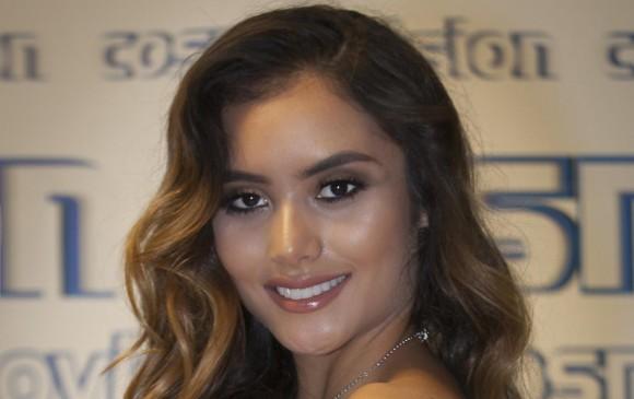 Juliana María Díaz Montoya. FOTO Cortesía Cosmovisión Real / Antonio Betancur