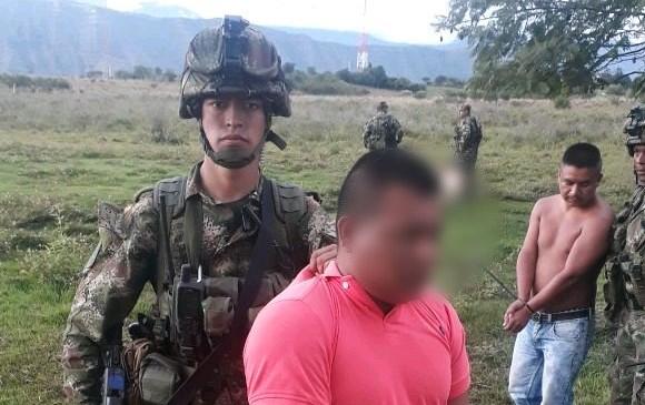 Capturan a alias 'Mordisco', presunto jefe de disidencia de las Farc