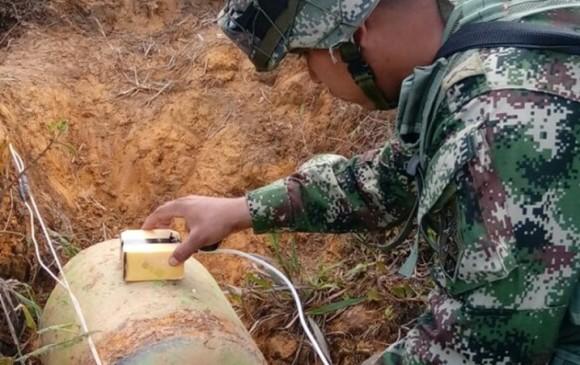 Guerrilla del ELN intentó explosionar torre de energía en noroeste de Colombia