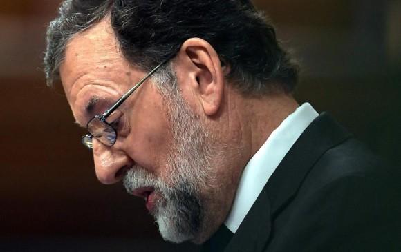 Mariano Rajoy se retira del congreso español