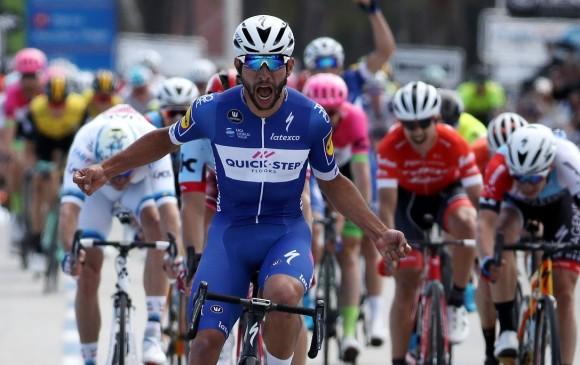 Colombiano Gaviria gana 5ta etapa del Tour de California