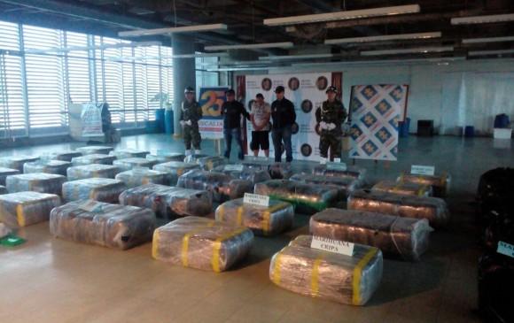 Ejército incautó una tonelada de marihuana a 'La Oficina' en Medellín