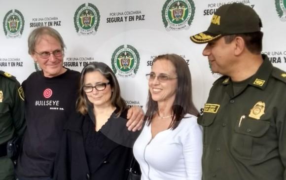 Rescatan a hermana de Juan Camilo Restrepo, secuestrada junto a una brasileña