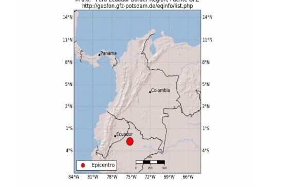 Reportan sismo de seis grados en Amazonía, al norte de Perú