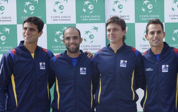 Equipo colombiano confirmado — Copa Davis
