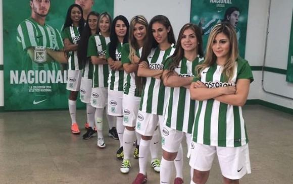 Parte del equipo Atlético Nacional Femenino. FOTO  malejaarbelaez 3b6e389ddea09