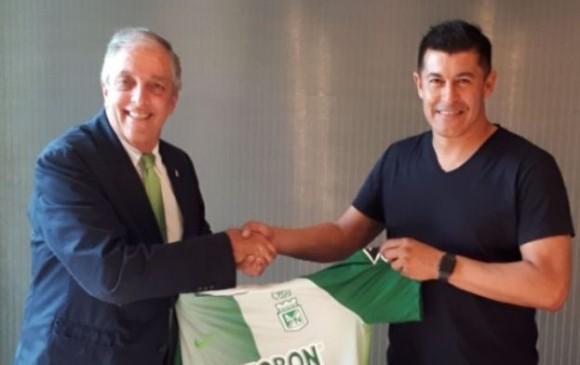 Jorge Almirón es el nuevo director técnico de Atlético Nacional