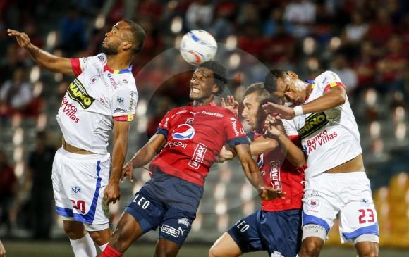 Pasto ganó por la mínima diferencia al Medellín en el Departamental Libertad