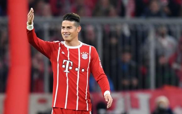 Camiseta FC Bayern München James Rodríguez