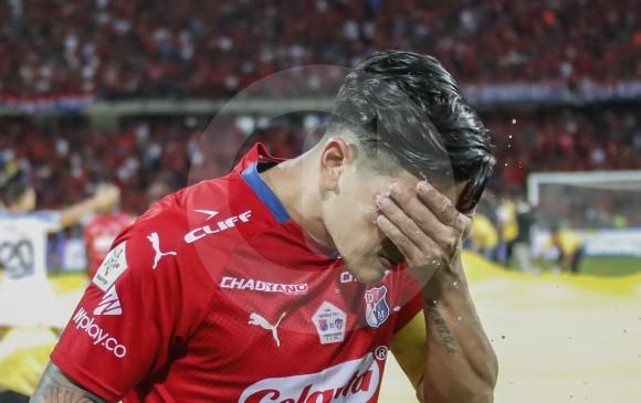Germán Cano marcó 20 goles con el Medellín en la Liga Águila-2 2018. FOTO ROBINSON SÁENZ