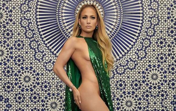 La imagen más reciente de Jennifer López demuestra que mantiene su figura. FOTO: cortesía InStyle