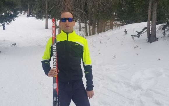 Sebastián Uprimny debutó en los Juegos Olímpicos de Invierno
