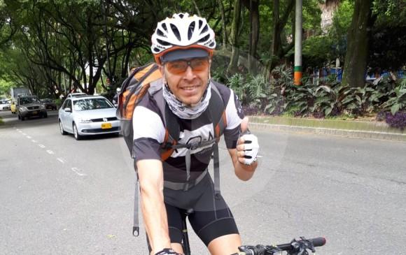Edison participa en el Clásico EL COLOMBIANO desde el 2010. Este año hará parte del cross country y la ruta. FOTO CLÁSICO EC