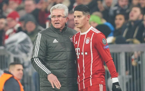 James se quedará al margen en Bayern debido a una lesión