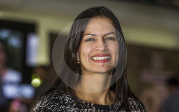 María Fernanda Galeano, secretaria de Desarrollo Económico de Medellín, afirma que se busca articular a la marca de ciudad destinos de otras zonas de Antioquia. FOTO Julio César Herrera