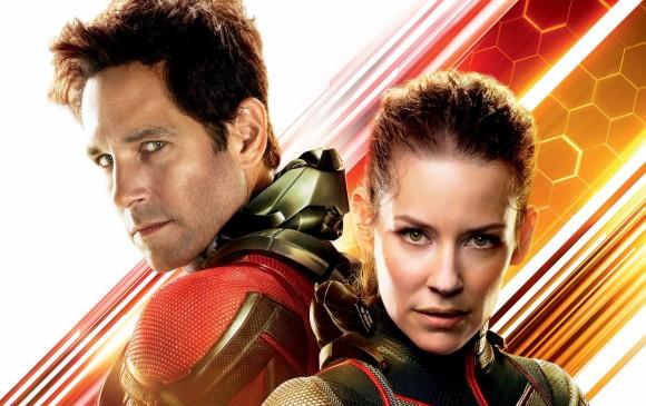 Paul Rudd y Evangeline Lilly regresan al cine esta vez como El hombre hormiga y la Avispa. Tendrán una nueva misión. FOTO película