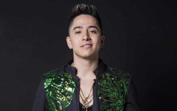 Andy Rivera está estrenando el sencillo Víbora. Vienen colaboraciones con Dálmata y Manuel Turizo. FOTO CARLOS VELÁSQUEZ