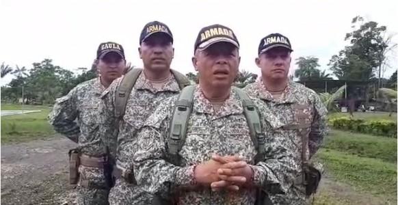 Armada niega que usa menores de edad como informantes
