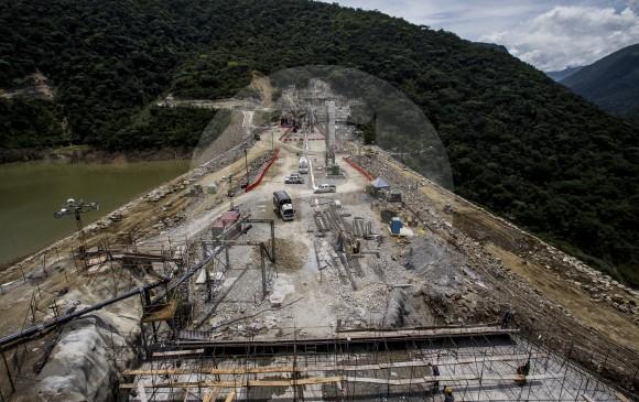 Jorge Londoño, gerente general de EPM, dijo que uno de los objetivos estará en la estabilización de Hidroituango y la situación social de las comunidades impactadas. FOTO Jaime Pérez