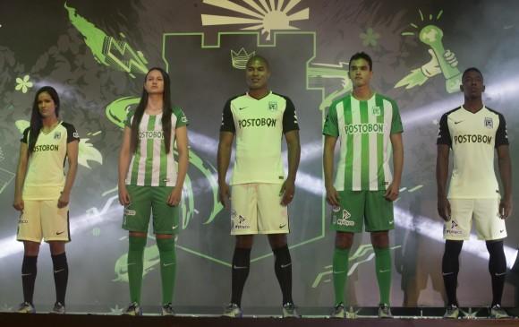 Conozca la nueva camiseta de Nacional para 2018. FOTO MANUEL SALDARRIAGA 90135ede62239