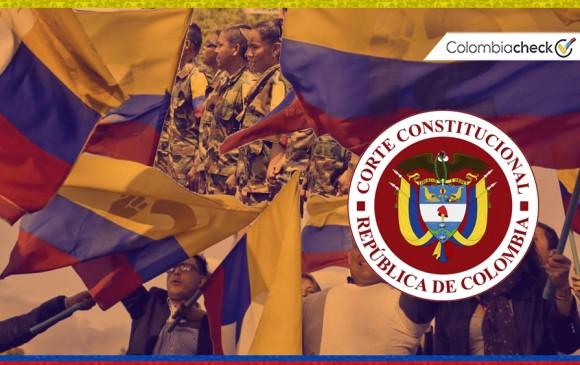 El mandatario electo estaría limitado para hacer correcciones. Foto: Colombiacheck.