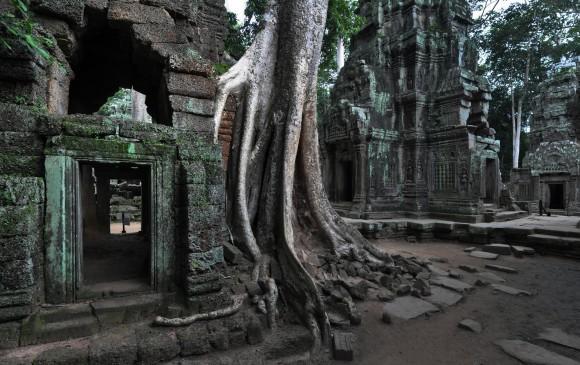 La principal atracción cultural y turística de la zona es Angkor, que se encuentra a 8 km al norte del centro de la ciudad. FOTO: Shutterstock