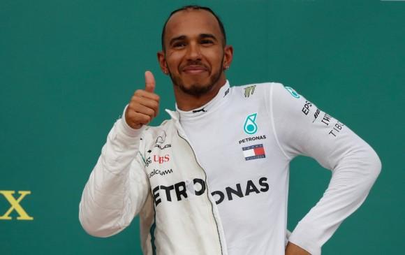 Con el último triunfo en Alemania, Lews Hamilton le tomó 17 puntos de ventaja a Sebastian Vettel. FOTO REUTERS