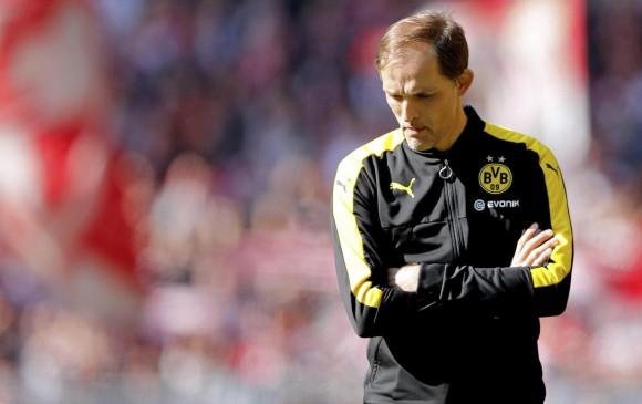 Borussia Dortmund despide a su entrenador Thomas Tuchel