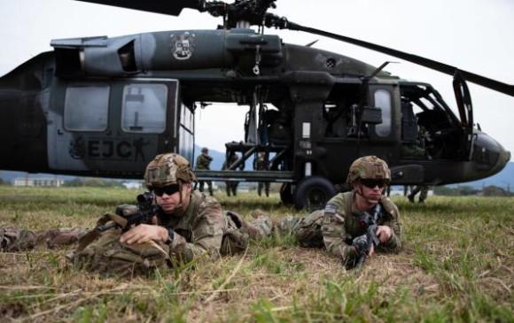 Tolemaida reúne a ejércitos de EE. UU., Brasil y Colombia