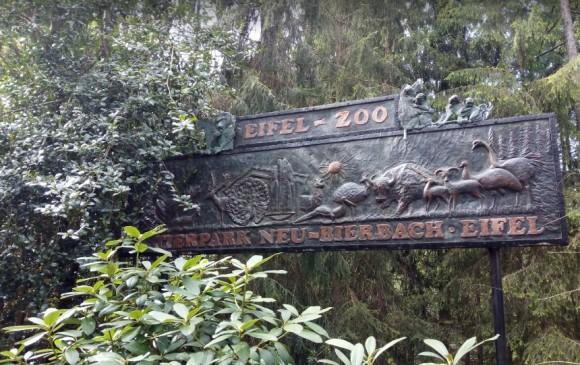 Entrada al zoológico Eifel. Tomada de Google Maps