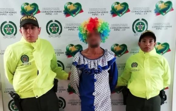 Hombre disfrazado de payaso pretendía abusar de una niña en Antioquia
