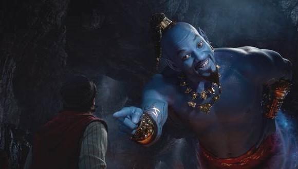Esta es la imagen oficial que comparte Disney de su cinta Aladdín que se estrenará en Colombia el 23 de mayo.