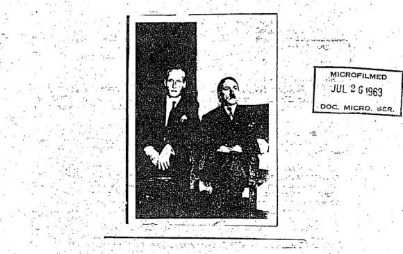 Esta es la foto que supuestamente se tomó el exsoldado nazi con Hitler en Tunja.