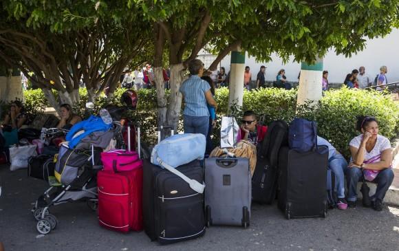 ¿Cómo están distribuidos los 550 mil venezolanos en Colombia?