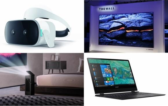 Compañías como Lenovo, Samsung y LG presentaron dispositivos innovadores para tener experiencias tecnológicas de última generación. FOTOS cortesía
