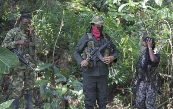 """Tras la muerte de """"Uriel"""", el Eln en Chocó se recompone. El Frente de Guerra Occidental Ómar Gómez será menos mediático, pero bajo el mando de """"la Abuela"""" se esperan más ataques. La fuerza pública ya trabaja en su captura. FOTO Archivo Donaldo Zuluaga"""