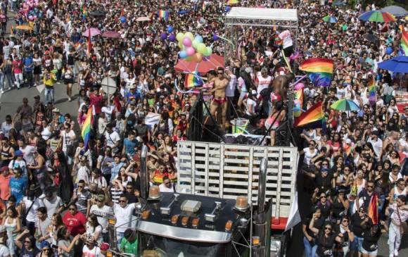 Desfile Gay de Medellín, 2017. Foto: Robinson Sáenz Vargas