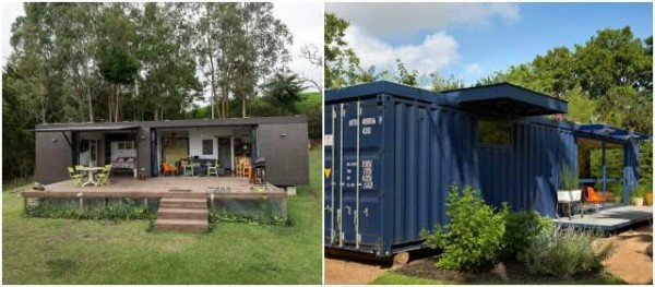 Para vivir en un contenedor - Casas prefabricadas de contenedores ...