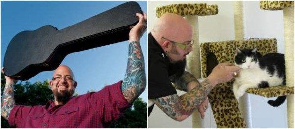 Jackson galaxy exorcista de gatos endemoniados for Jackson galaxy music