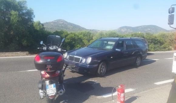 Este fue el carro involucrado en el accidente. FOTO TWITTER