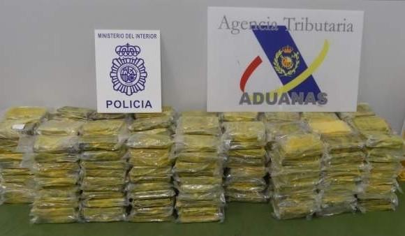 Incautan nueve toneladas de cocaína al Clan del Golfo en España