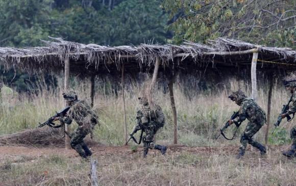 Los combates entre el Ejército y el Clan del Golfo ocurrieron en zona rural del municipio de Los Córdobas. FOTO ARCHIVO DONALDO ZULUAGA