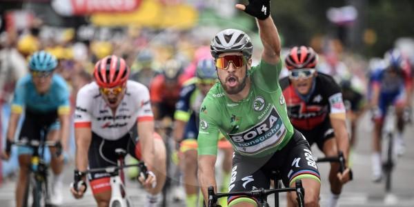 Peter Sagan ganó la etapa 13 del Tour de Francia y ya suma tres