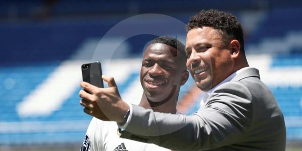 Real Madrid presentó a Vinicius Júnior