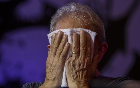Lula da Silva, expresidente de Brasil. FOTO: AFP