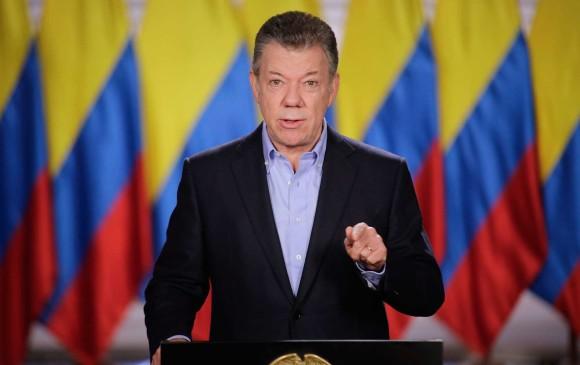 Presidente Santos destacó avances en materia laboral durante su gobierno
